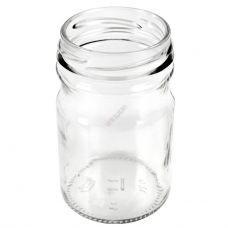 Стеклянная банка Горчичка То58 0.2 литра. Стеклобанка для икры и меда 200 мл