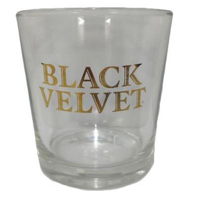Стакан для виски Black Velvet 250 мл. Бокал Тумблер для коньяка, бурбона, рома и сока 0.25 литра