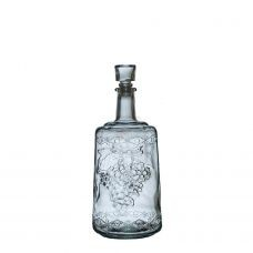 Бутыль графин Традиция 1,5л. Стеклянная бутылка для вина 1500мл