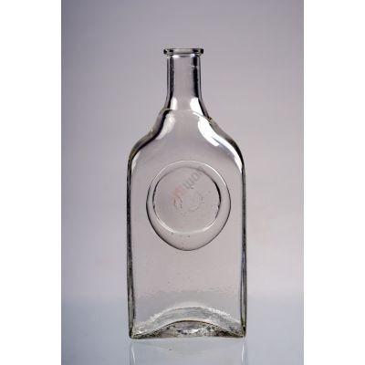 """Стеклянная бутылка """"Слеза"""" 1л. Бутыль для вина и самогона 1000мл"""