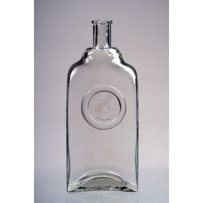 """Стеклянная бутылка """"Слеза"""" 2л. Бутыль для вина и самогона 2000мл"""