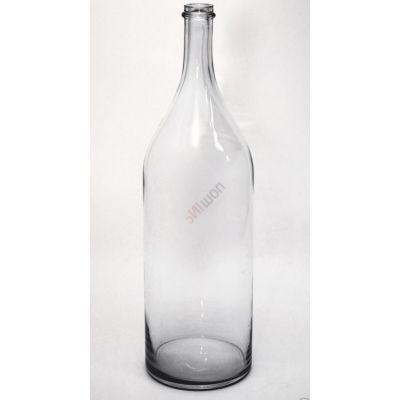 Бутыль Русская четверть 3.075л. Стеклянная бутылка для вина 3075мл