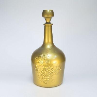"Бутыль ""Фуфырь бронза золото"" 3л. Стеклянная бутылка для вина 3000мл"