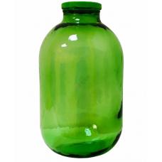 Стеклобанка ТО100 10л зелёная с крышкой. Стеклянная банка твист офф для консервирования 10000мл