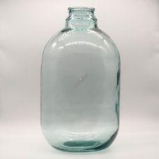 Бутыль СКО82 15л. Стеклянная бутылка для вина прозрачная 15000мл