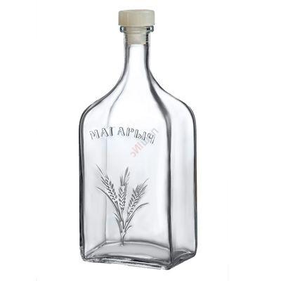 Бутыль Магарычок 1,2л. Стеклянная бутылка для вина 1200мл