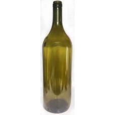 Бутылка винная ОЛИВКОВАЯ БОРДО 1.5 литра. Стеклянная бутыль для вина 1500 мл