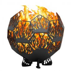 Костровая чаша сфера. Очаг Пламя