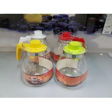 Термостойкий стеклянный чайник Termisil 1.85 литра простой EWA