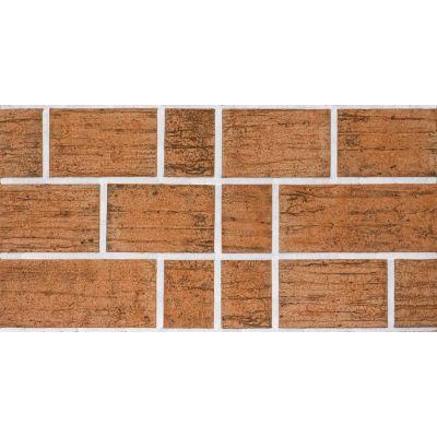 Гибкая плитка Блок 071 Касавага. Экобрик декоративный гибкий камень Casavaga