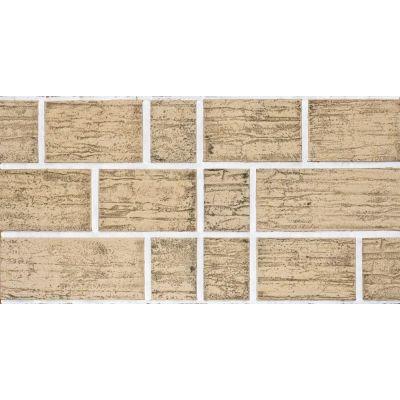 Гибкая плитка Блок 072 Касавага. Экобрик декоративный гибкий камень Casavaga