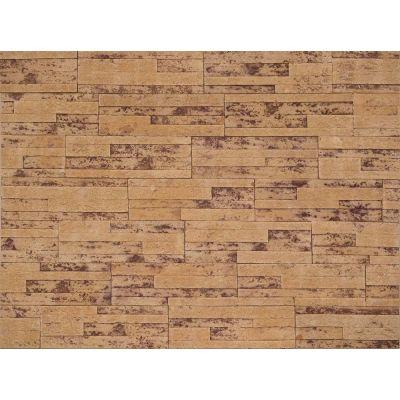 Гибкая плитка Пласт 012 Касавага. Экобрик декоративный гибкий камень Casavaga