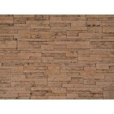 Гибкая плитка Пласт 028 Касавага. Экобрик декоративный гибкий камень Casavaga