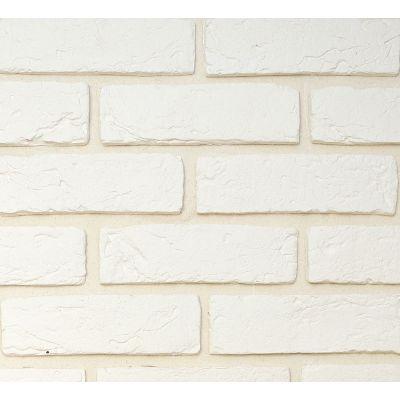 Гипсовая плитка Кирпич ручной формовки 400 Касавага. Декоративный гипсо-цементный камень Casavaga