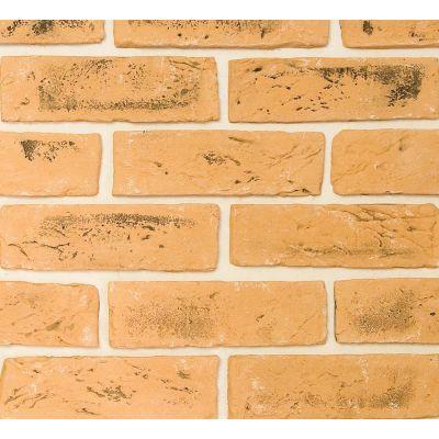 Гипсовая плитка Кирпич ручной формовки 417 Касавага. Декоративный гипсо-цементный камень Casavaga