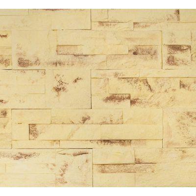 Гипсовая плитка Кварцит 702 Касавага. Декоративный гипсо-цементный камень Casavaga