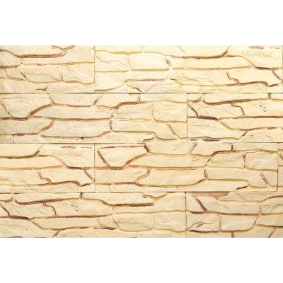 Гипсовая плитка Пласт 502 Касавага. Декоративный гипсо-цементный камень Casavaga
