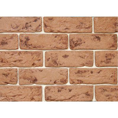 Гипсовая плитка Саман 205 Касавага. Декоративный гипсо-цементный камень Casavaga под кирпич.