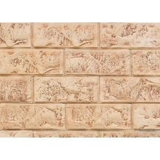 Гипсовая плитка Скала 101 Касавага. Декоративный гипсо-цементный камень Casavaga стиль лофт