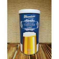Экстракт охмеленный Muntons Continental lager 1.8 кг, Англия