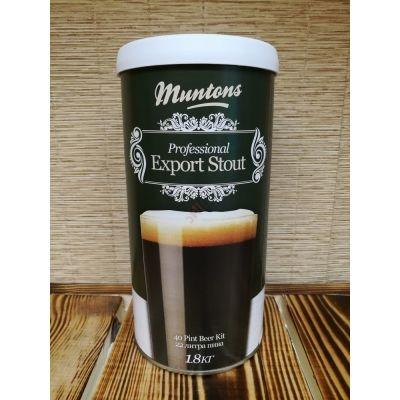 Экстракт охмеленный Muntons Export Stout 1.8 кг, Англия