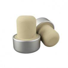 Пробка Т-образная полимерная двухкомпонентная алюминий (шапка 29-11, ножка 19-21)