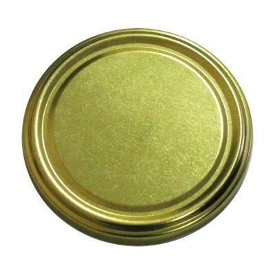 Крышка ТО66 золото Магол Беларусь. Твист-Офф с резьбой для стеклянных банок