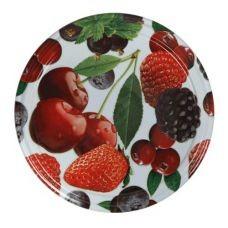 Крышка ТО82 Овощи Фрукты. Твист-Офф с резьбой для стеклянных банок