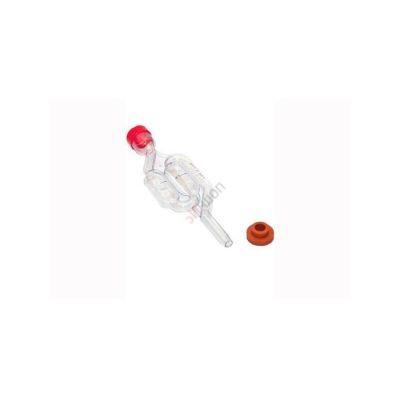 Гидрозатвор пластиковый двухкамерный в сборе (с резиновым кольцом)