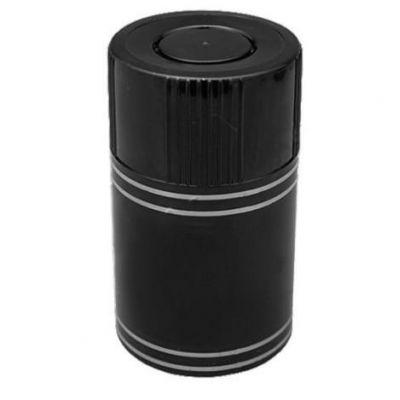 Колпачки типа Гуала черные 30мм. Пробка с выдвижным дозатором, крышка Гуала
