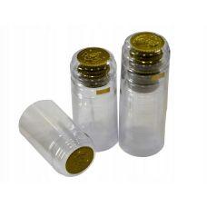 Термоусадочные колпачки капсула прозрачные, 100шт